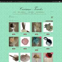Diseño página Web Colecciones Archives   Carissimo Tocados